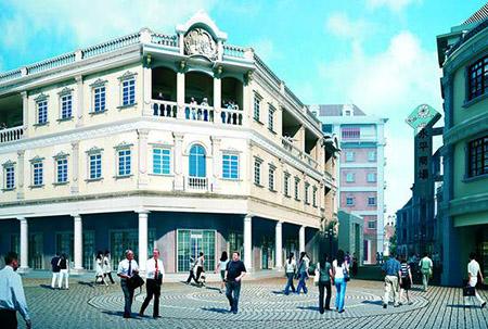 打造全国开埠商业文化活体博物馆