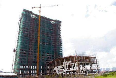 普宁计划投资3亿建23层东方翡翠大酒店