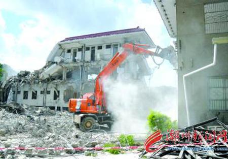潮州--韩江东岸旧城区改造项目进入拆迁阶段