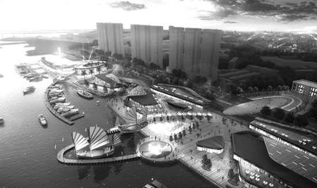 汕头:潮人码头项目通道全部施工完成
