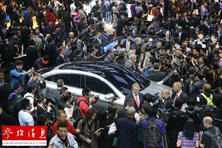 外媒:全球车企如何在北京车展下赌注