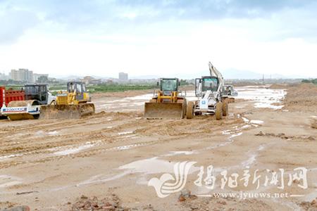 惠来县城南环二路累计完成投资约2亿元