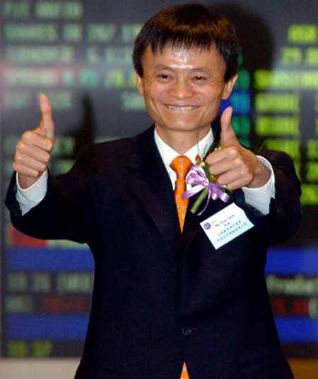 彭博社:马云净资产218亿美元跃居中国内地首富
